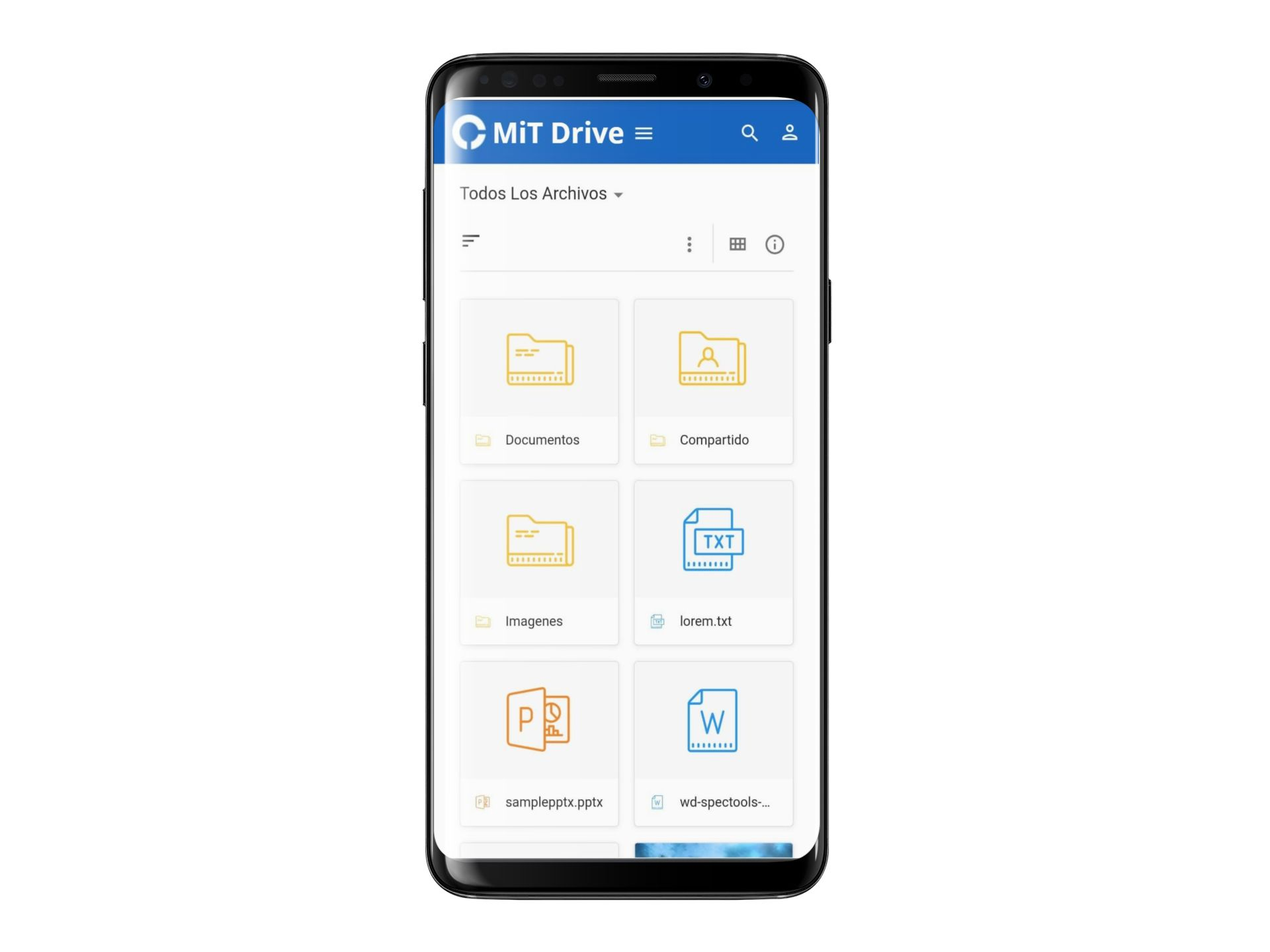 galaxy s9 mockup template against transparent background a19508 2 MiT Drive
